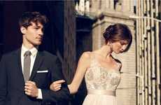 Urban Bride Lookbooks - The Latest BHLDN Lookbook Features Gowns Perfect for New York City