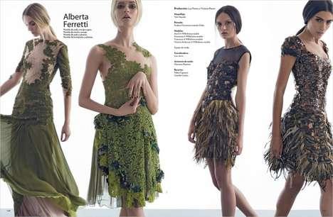 Seasonal Couture Portraits