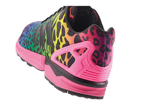 Vibrant Animal Print Shoes
