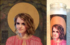 Celebrity Prayer Candles - As Far As Emma Watson Products Go, This Candle Will Spread Light and Joy