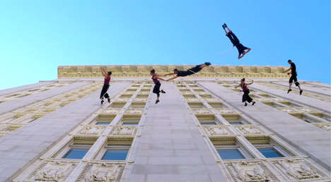 Surreal Vertical Dancing