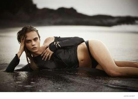 Sensual Beach Fashion Ads