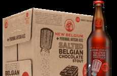 Savory Chocolate Beers - Enjoy the Boozy Taste of Cany With the Salted Belgian Chocolate Stout