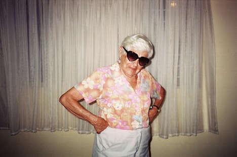 Vibrant Grandmother Photos