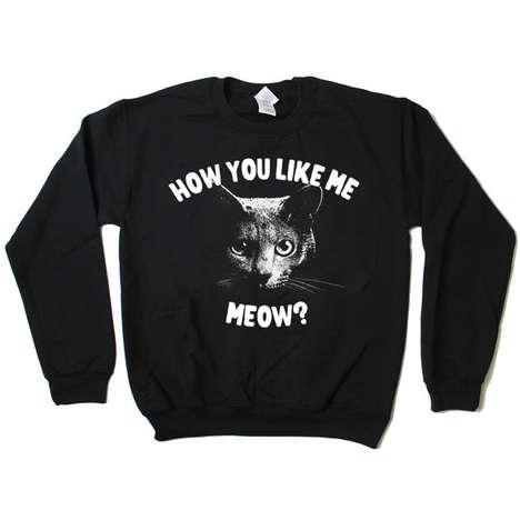 Arrogant Feline Sweaters
