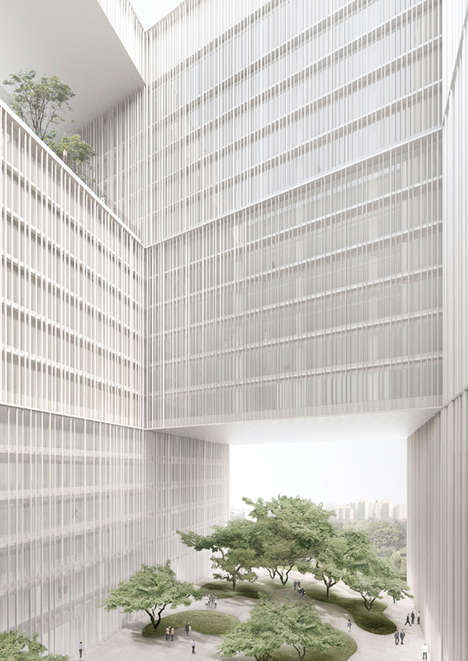 Nature-Infused Headquarters