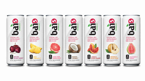 Healthy Carbonated Drinks - Bai Brands Introduces All-Natural, Anti-Oxidant Sparkling Beverage Line