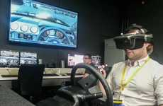 Immersive Virtual Reality Cars - Ford's Immersive Vehicle Environment Generates a 3D Car