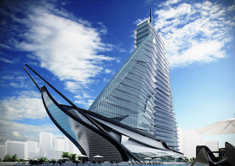 Ship-Shaped Hospitals - Vasily Klyukin is Set to Create the White Sails Hospital & Spa in Tunisia