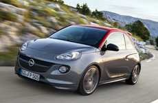 Turbocharged City Cars - The Opel Adam S Has An Upgraded Chassis and Engine