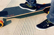 Aviation-Grade Electric Skateboards - These Boards Get You Where You Want to Go Cooler and Faster