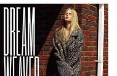 Natural Knit Fashion - Modern Lara Stone Stars in Issue 91 of V Magazine
