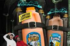 Orange Popsicle-Flavored Milks - TruMoo's Orange Cream Milk is a Special Halloween Offer