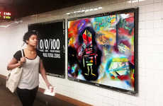 Replacement Advertising Apps - The No Ad App Turns Ads Into an Augmented Reality Subway Art Gallery