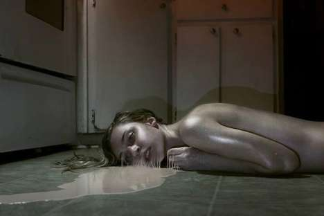 Surreal Puddling Photography