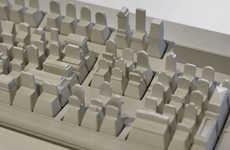 Architectural Keyboard Sculptures
