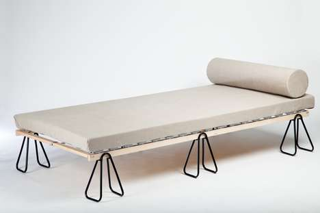 Butterfly-Clipped Daybeds