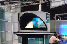 Holographic Tech Kiosks