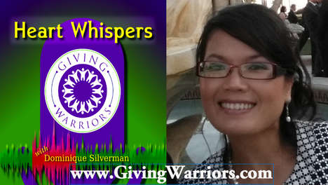 Dominique Silverman, Host of Giving Warriors (INTERVIEW) - Radio Show Invested in Social Change