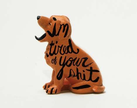 Hand-Lettered Unwanted Objects