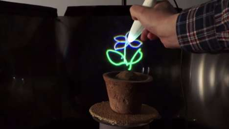 Holographic Sketching Devices