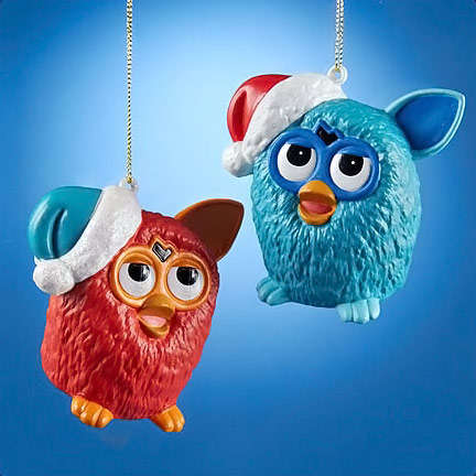 Furry Toy Ornaments