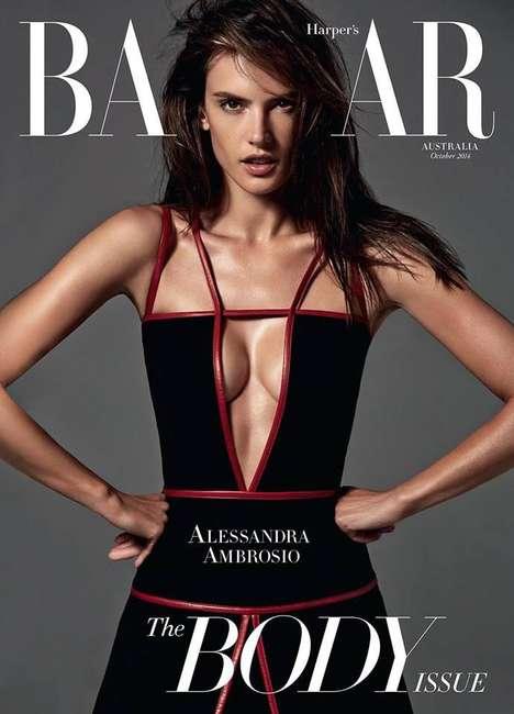 Body-Flaunting Editorials