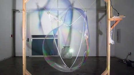 Mesmerizing Bubble Machines