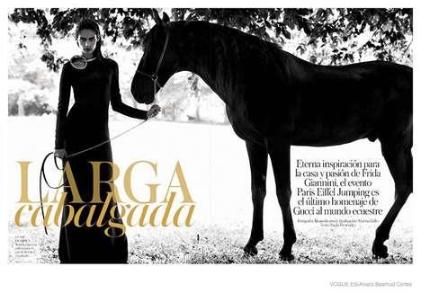 Sensual Equestrian Fashion