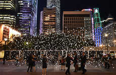 Immersive Light Installations (UPDATE) - Jim Campbell Moves 'Scattered Light' to Hong Kong