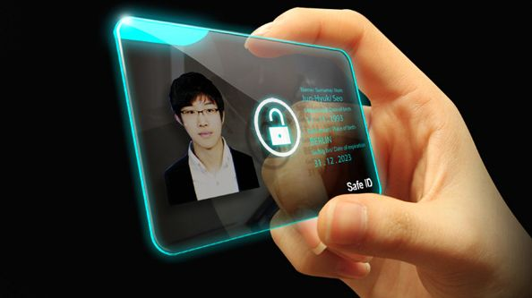Thumb-Unlocked ID Cards
