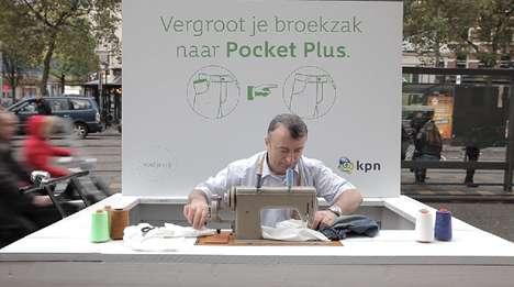 Pocket-Resizing Spoofs