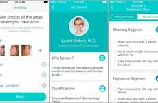 Acne Treatment Apps - Spruce Health's Acne Treatment Method Uses Selfies to Customize Plans
