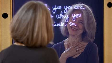 Affirming Interactive Mirrors