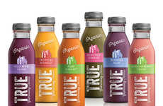 Farm Fresh Juice Packaging - This Organic Juice Packaging Tells of the Family Who Grows the Crops