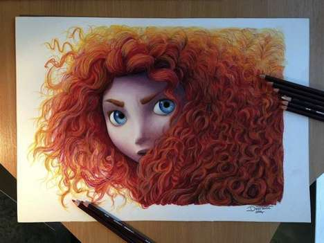 Cartoon Character Drawings