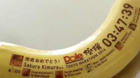 Edible Banana Trophies