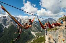 Daredevil Tightrope Gatherings - The International Highline Meeting Was Held at Monte Piana