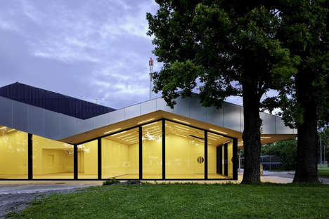 Calligraphy-Inspired Architecture - Frei + Saarinen Rebuild a Community Hall in Switzerland