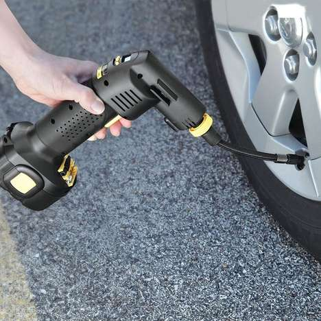 Automatic Cordless Tire Inflators