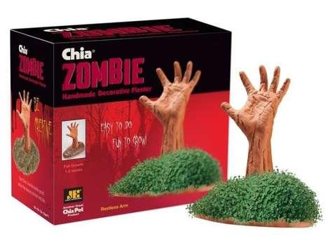 Zombie Chia Pets