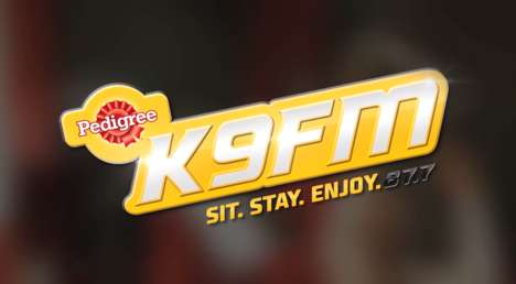 Dog Radio Stations - Pedigree's K9FM is a Radio Station with Canine-Friendly Content