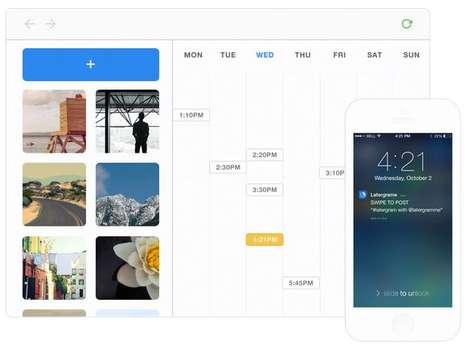 Scheduled Photo Apps