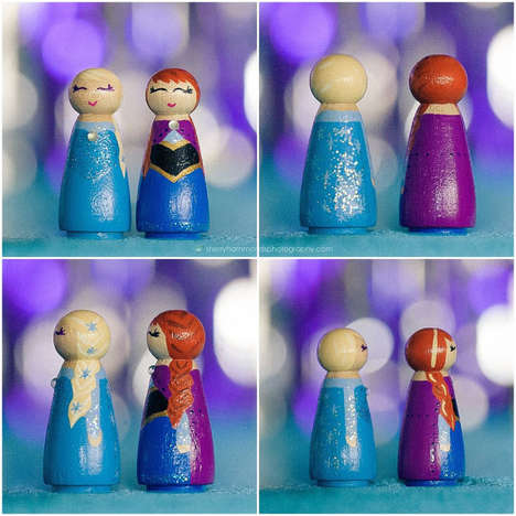 Wooden Disney Princess Toys