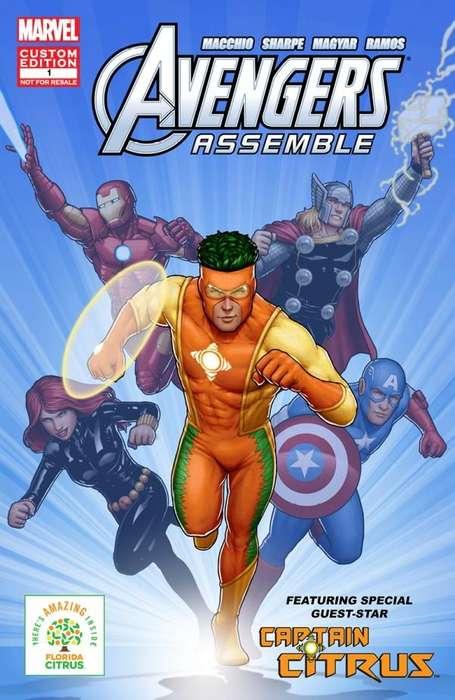 Healthy Superhero Campaigns