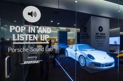 Multisensory Automotive Lounges