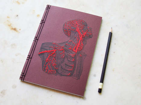 Hand-Embroidered Notebooks
