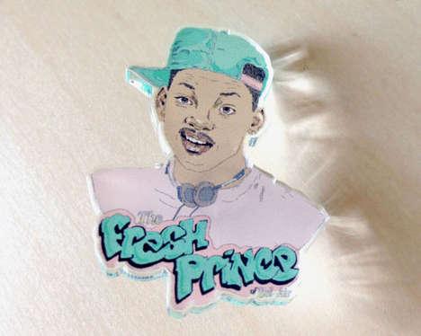 Nostalgic Pop Culture Pins