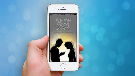 Consensual Intimacy Apps - The Good2Go App Attempts to Foster Positive Communication About Consent