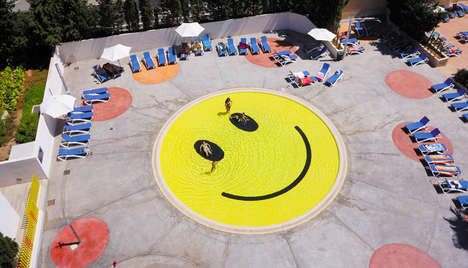 Smiley-Faced Pools - 'A2arquitectos' Designs the Smile Pool